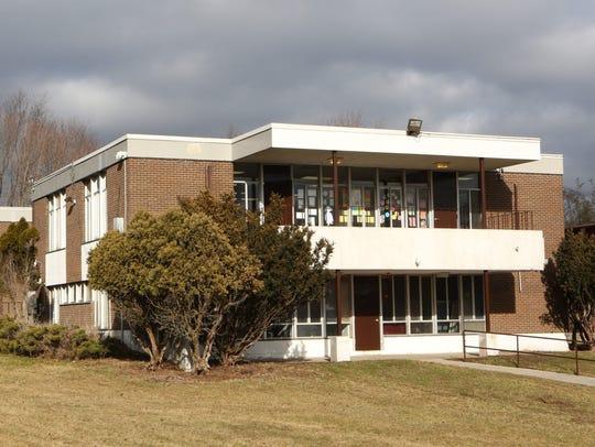 The classroom building at the Bais Yaakov Elementary