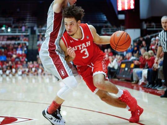 NCAA Basketball: Utah at Stanford