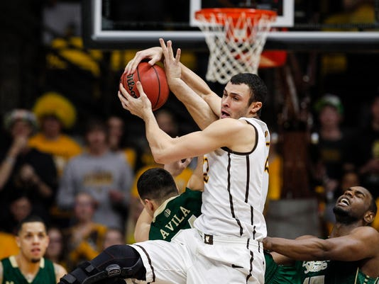 NCAA Basketball: Colorado State at Wyoming