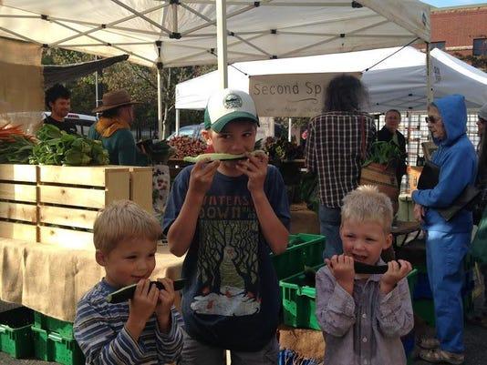 ASAP second spring cucumbers w Sanders boys JPG