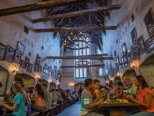 Diagon Alley at Universal Orlando Resort is home to