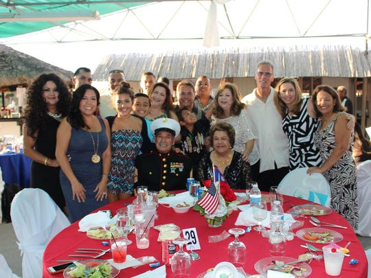 The Gogue family at the San Diego Liberation Queen