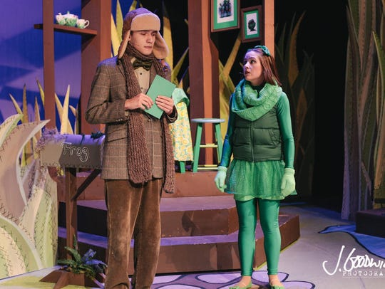 'Frog and Toad' will have its last performance Saturday.