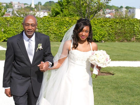 Sarita Wright is pictured on her wedding day. Wright's family and friends have started a foundation in her name after she died in September 2014.