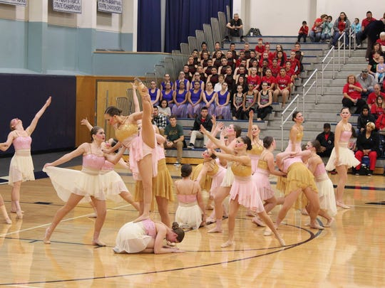 The Stayton High School Highlights dance team will be competing in the state championships March 17 - 19.