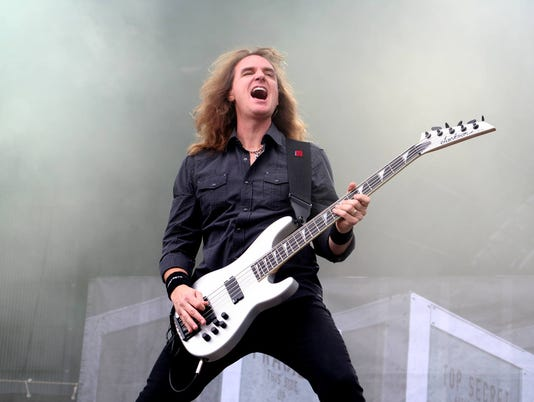 Megadeth bassist coming to Terra