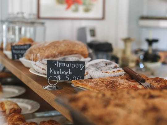 Pastries can be enjoyed at brunch, or brought to back