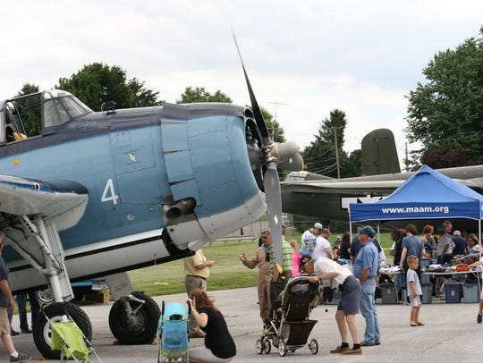 Aviation Days takes place at the York Airport on Saturday