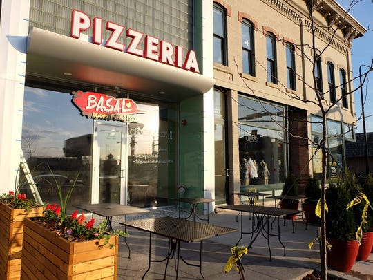 Basal Pizza in Waterloo features Neapolitan pizzas cooked at 900 degrees in 60 to 90 seconds.