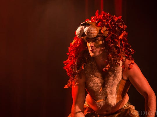 """""""Tarocco"""" includes stunning costumes, aerial acts,"""