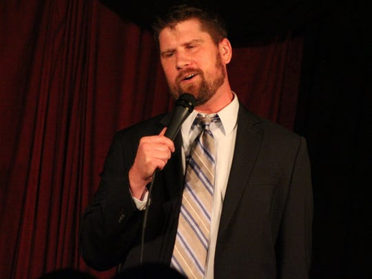 The lineup includes a mixture of friends Busa made while performing in New York and Philadelphia, including stand-up vets like Chip Chantry.