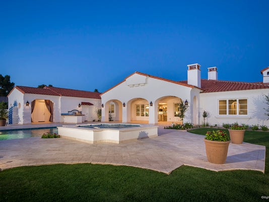 Michael Phelps' home
