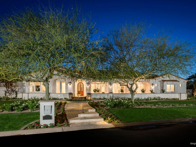 Swimmer Michael Phelps sells Paradise Valley house - Cindy McCain Buys in Phoenix - Arizona House Sales