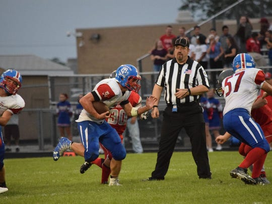 Tri-County running back Frank Berenda has rushed for