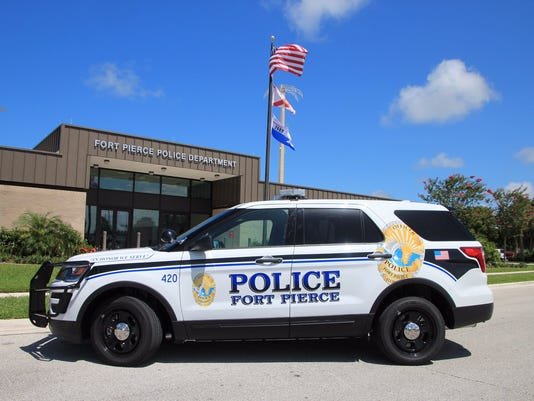 NOT FOR PRINT crime accident wreck government Fort Pierce Police Department headquarters 0708-2016 from tweet
