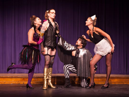 "Stowe Theatre Guild opens ""The Rocky Horror Show"" Wednesday."
