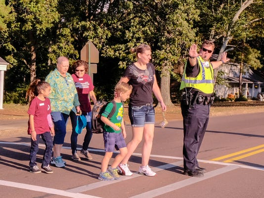 Collierville Walk to School Day