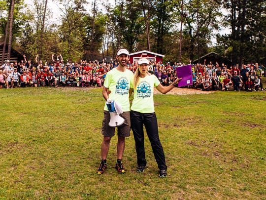 Tim Buchholz and Anna Nummelin have also organized their own adventure race, the Rib Mountain Adventure Challenge.