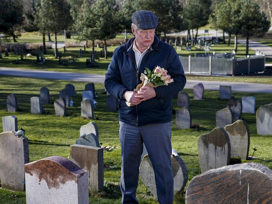 """In """"A Man Called Ove,"""" the title character (Rolf Lassgard)"""