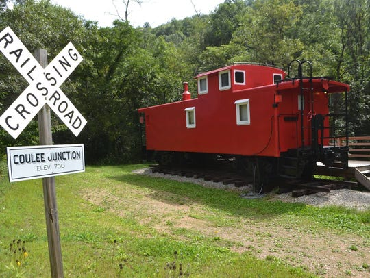 6. Coulee Junction Caboose (Desoto)