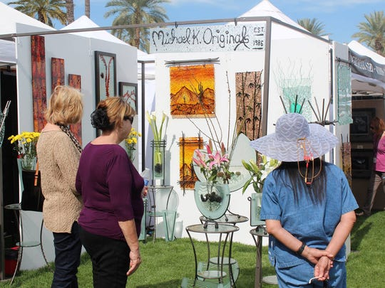 During the Litchfield Park Festival of the Arts, guests