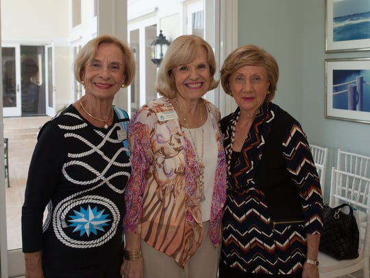 Ann Millar, Barbara Sidari, and Bess Papandon