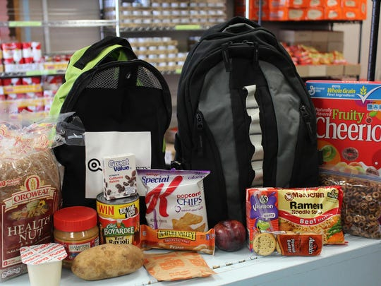 """Volunteers are needed for the local """"Fill the Bus"""" Food Drive Saturday at Albertson's."""