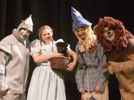 """The Wizard of Oz"" opens Friday at DreamWrights."