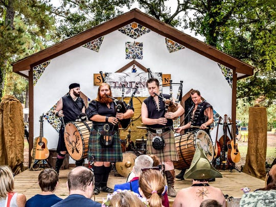 Tartanic will perform at the 18th annual Ingleside Renaissance Faire on Saturday and Sunday.