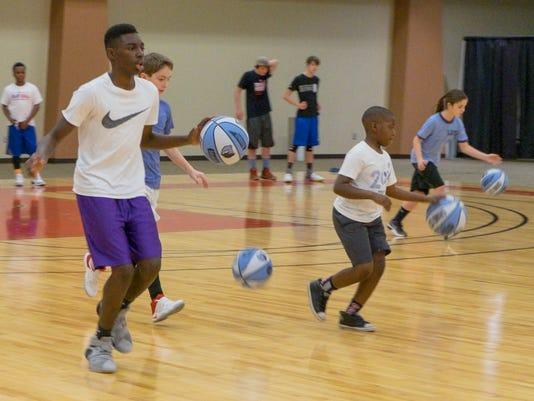 Memphis Grizzlies Basketball Camp