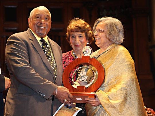 Bernard LaFayette was recently recognized with an international