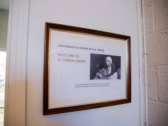 The new center is named after Saint Teresa of Calcutta