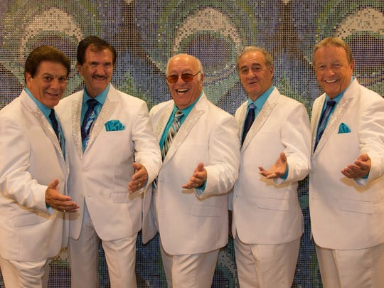 Lead singers from famous Fifties doo-wop groups join a tribute to other Fifties stars Tuesday Jan. 17.