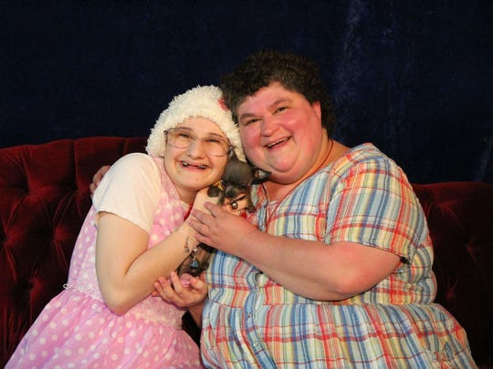Gypsy Blanchard and Dee Dee Blanchard in an undated photo.