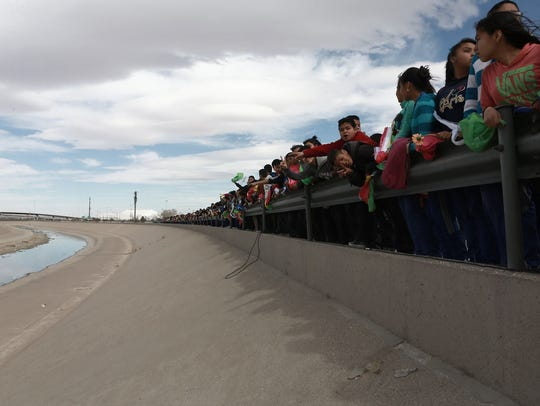 Mexican citizens and legislators protesting against