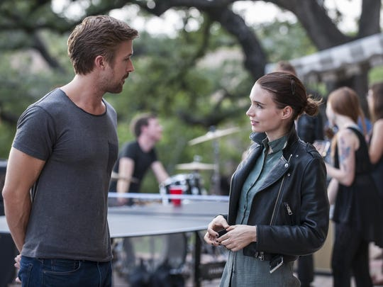 """Ryan Gosling and Rooney Mara star in """"Song to Song."""""""