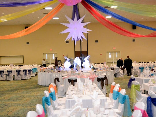 The Centennial Club will host its annual Easter brunch on April 16.