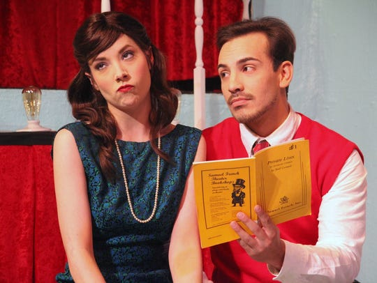 "Catch  ""Moon Over Buffalo,"" Saturday at Backdoor Theatre."