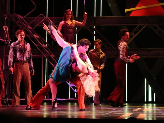 "Professional costume designer Gail Baldoni has designed for many Riverside Theatre shows including ""Saturday Night Fever."""