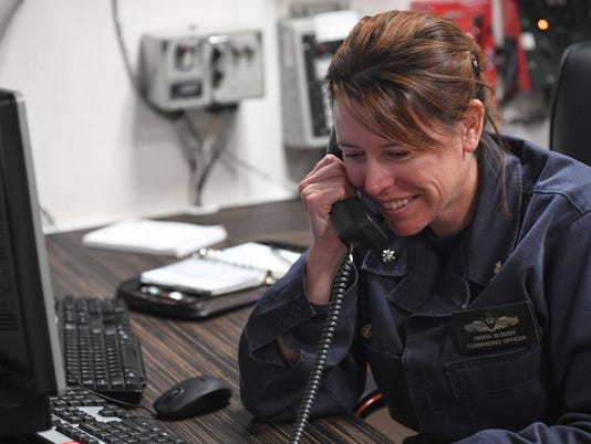 USN Cmdr. Andria Slough