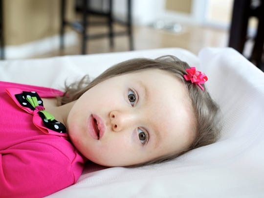 Olivia Borodychuk, 8, of DeWitt died Friday. She was diagnosed with a rare genetic disorder at age 2.