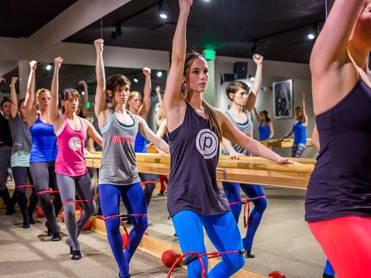 Pure Barre combines yoga, Pilates and ballet for a low-impact work out.