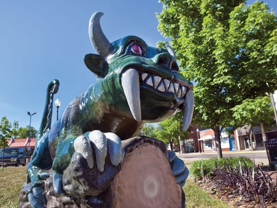 Rhinelander's mythical hodag has become a symbol for