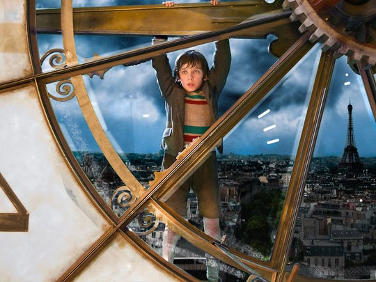 """Asa Butterfield stars in """"Hugo,"""" directed by Martin"""