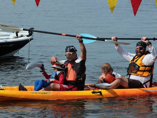 The 5th annual Pelican Paddle Canoe and Kayak Race