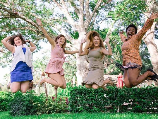 Women's Refuge of Vero Beach residents jump with joy