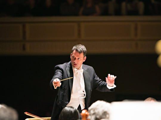 Memphis Symphony Orchestra music director Robert Moody