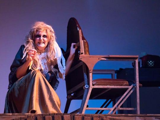 Ashleigh Littlefield as Beggar Woman with Sweeney's