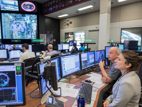 On April 24, 2017, NASA Flight Director Brian Smith,