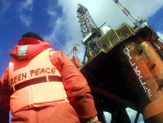AFP IA05 GREENPEACE BRIT 27 AIN-ENVIRONMENT-RIG-GREENPEACE ENVIRONMEN GBR